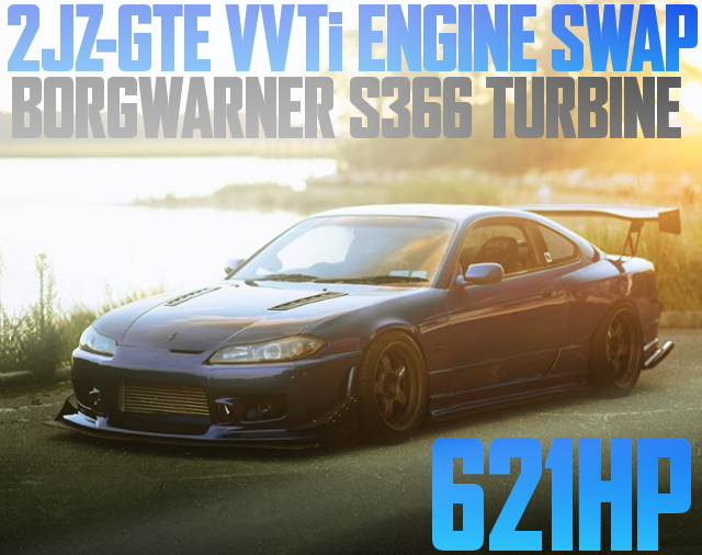 2JZ-GTE ENGINE SWAP S366 TURBO S15 SILVIA