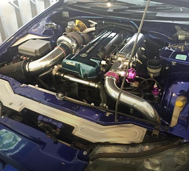 2JZ-GTE ENGINE BORGWARNER TURBINE