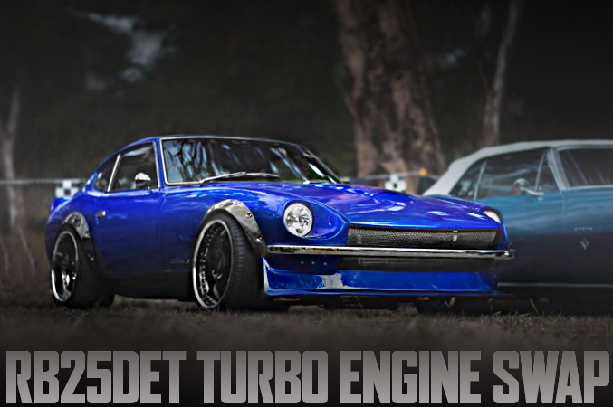 RB25 TURBO HALTECH ECU S30 DATSUN 240Z