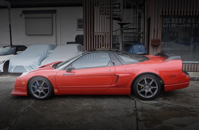 EXTERIOR SIDE FOR SPOON DEMO CAR NA1 ACURA NSX