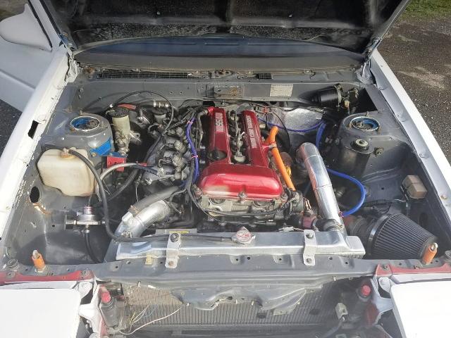 SR20DET TURBO ENGINE RED-TOP