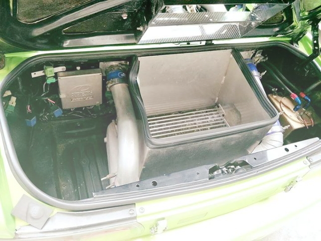 TRUNK ROOM INTERCOOLER