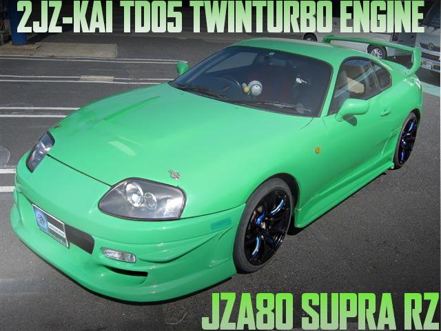TD05 TWIN TURBO JZA80 SUPRA
