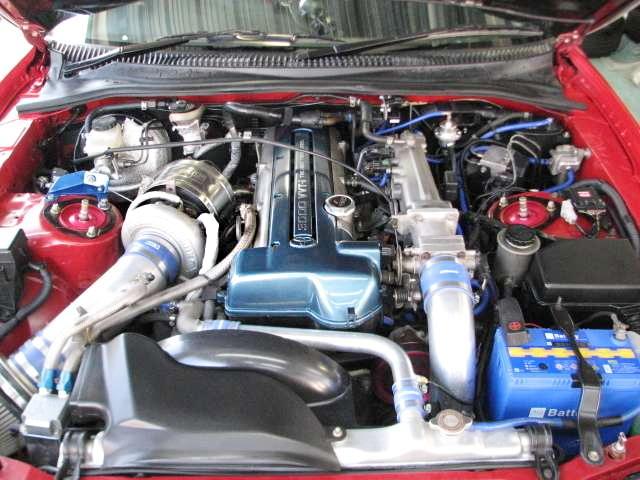 HKS TO4Z TURBOCHARGED OF 2JZ-GTE VVTi ENGINE