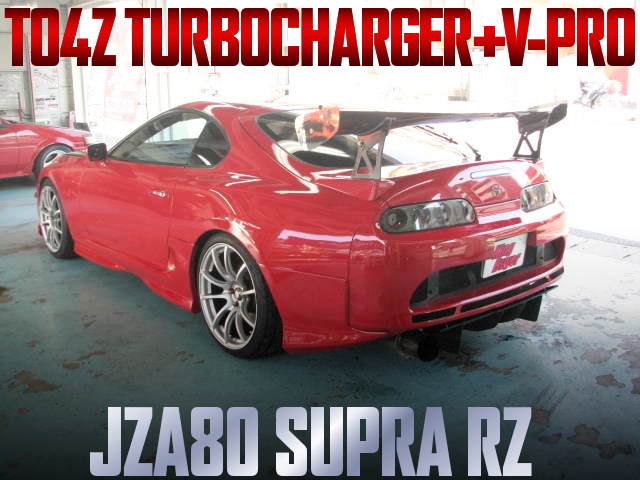 TO4Z TURBO AND V-PRO FOR JZA80 SUPRA RZ