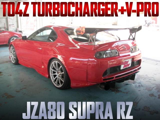 TO4Z TURBO AND V-PRO FOR JZA80 SUPRA RZ