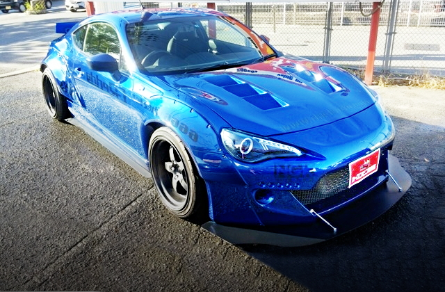 FRONT EXTERIOR TOYOTA 86 GT LIMITED