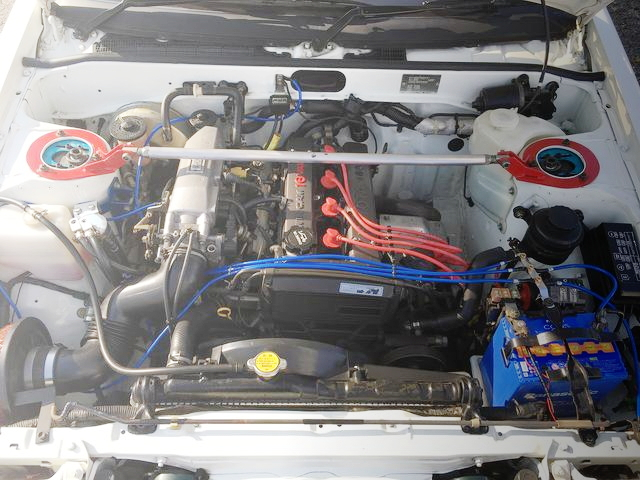 16-VALVE 4-AG ENGINE FOR AE86