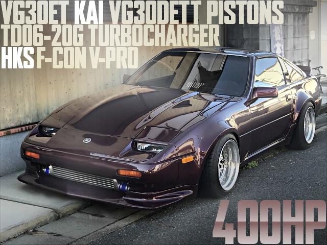 400馬力!VG30ET改VG30DETTピストン2990cc!TD06-20Gタービン!V-PRO制御