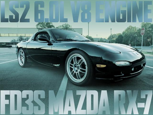 LS2 V8 ENGINE FD3S RX-7