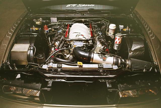 LS7 7-LITER V8 ENGINE SWAP