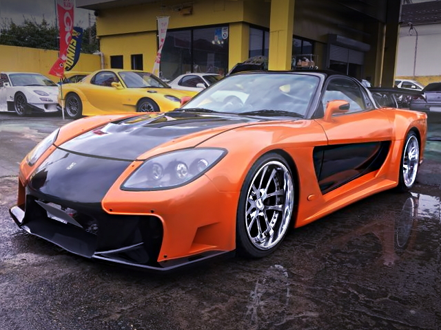 FRONT EXTERIOR FORTUNE RX-7