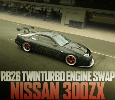 RB26 SWAP Z32 NISSAN 300ZX