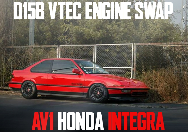 D15B VTEC SWAP AV1 INTEGRA 3-DOOR