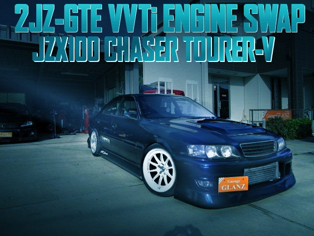 2JZ-GTE ENGINE SWAP JZX100 CHASER