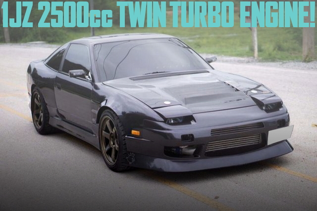 1JZ-GTE TWINTURBO ENGINE 200SX (180SX)