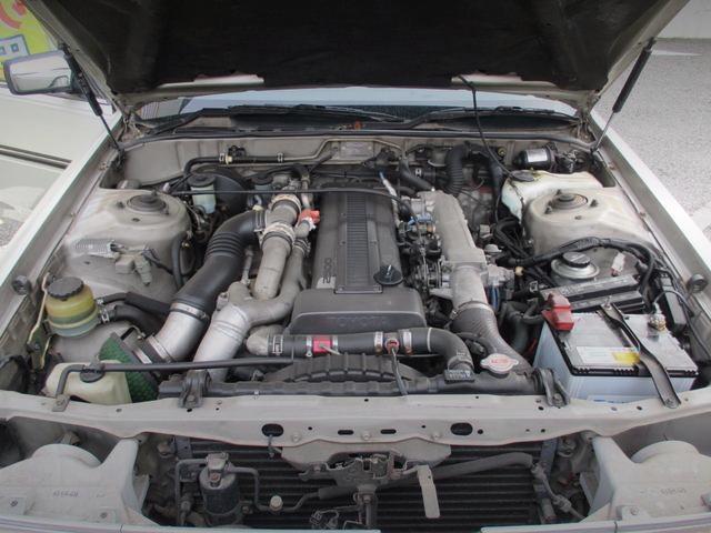 1JZ-GTE TWIN TURBO ENGINE
