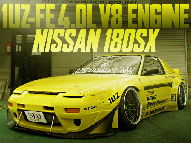 1UZ V8 ENGINE 180SX ROCKETBUNNY