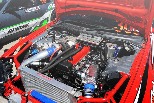 2JZ-GTE ENGINE WITH BORGWARNER S366 TURBOCHARGED