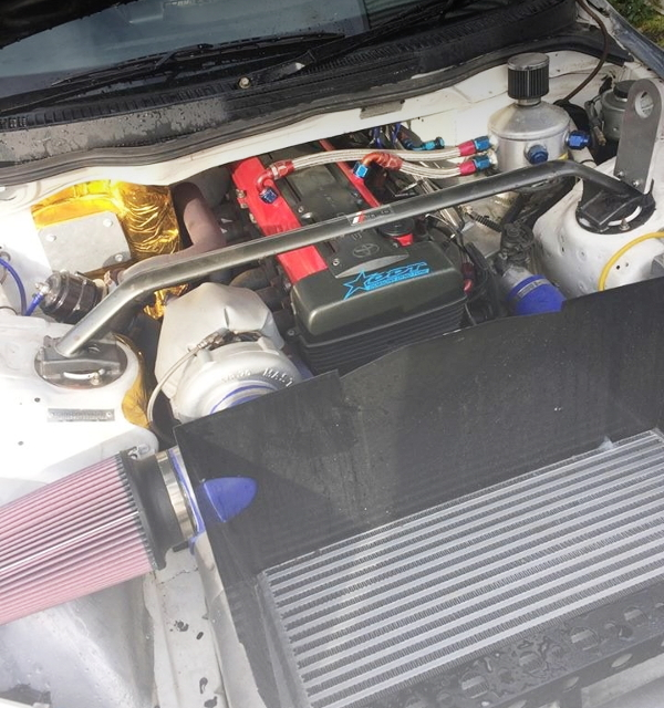 V-MOUNT INTERCOOLER 2JZ-GTE ENGINE