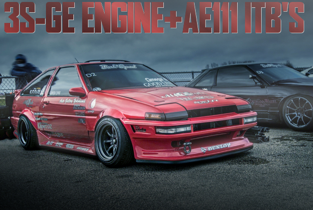3S-GE BEAMS ENGINE WITH AE11 ITB AE86 COROLLA GT-S