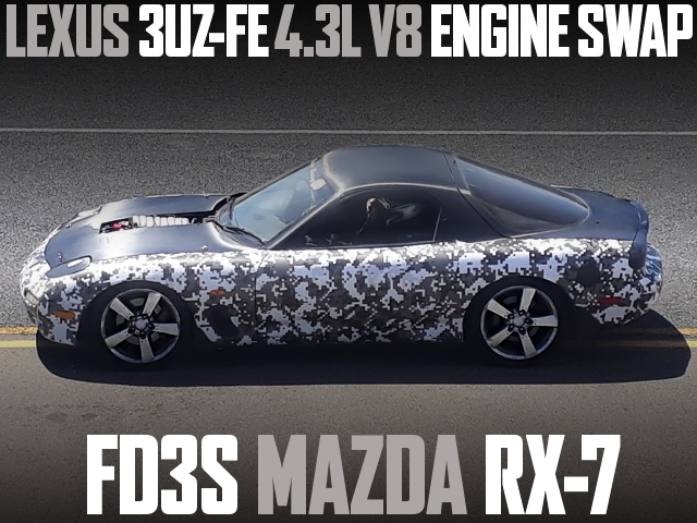 3UZ-FE SWAP FD3S RX-7