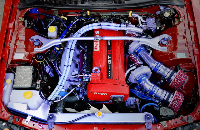 RB26 GT2835 TWINTURBO ENGINE