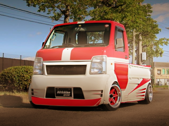 FRONT EXTERIOR HELLOW SPECIAL WIDEBODY CARRY TRUCK
