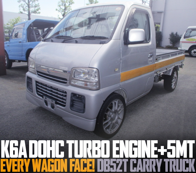 K6A DOHC TURBO FULL-TIME 4WD 5MT DB52T CARRY TRUCK