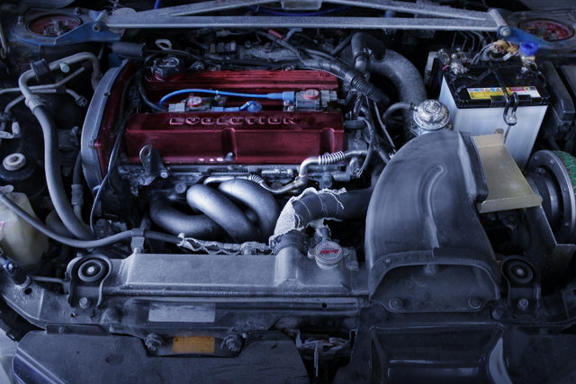 EXHAUST MANIFOLD FOR 4G63 ENGINE