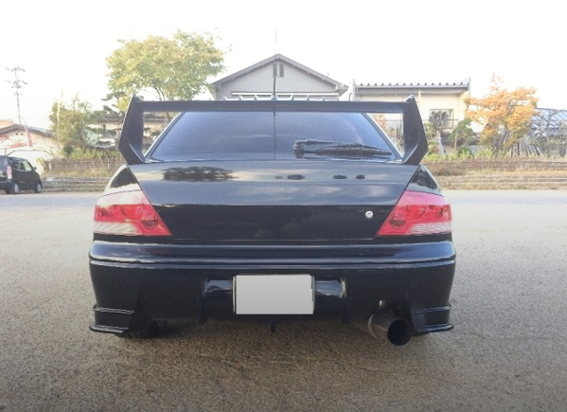 BACK EXTERIOR CT9A LANCER EVOLUTION 7 GSR