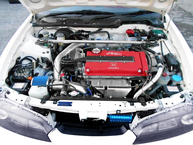 B18C VTEC ENGINE GARRETT TURBOCHARGED