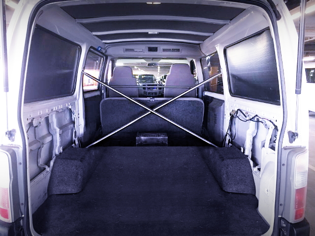 INTERIOR REAR SPACE FOR VPE25 CARAVAN