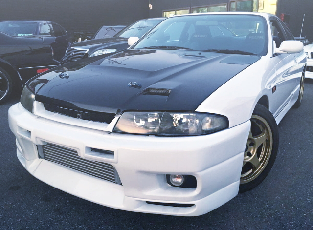 FRONT EXTERIOR ECR33 SKYLINE GTS25t 40TH ANNIVERSARY