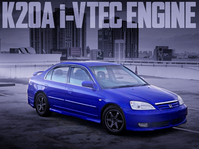 K20A i-VTEC ENGINE SWAP ES CIVIC FERIO