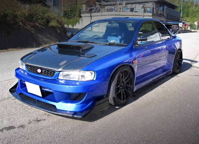 FRONT EXTERIOR GC8 IMPREZA COUPE WRX STI WIDEBODY