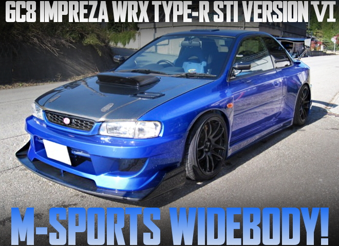 WIDEBODY GC8 IMPREZA WRX TYPE-R STI VERSION 6