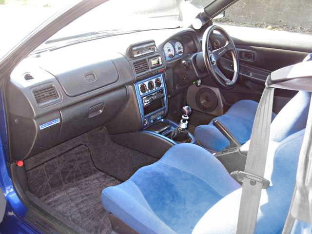 INTERIOR GC8 WRX STI