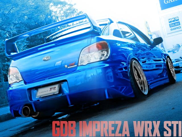 STANCE GDB IMPREZA WRX STI