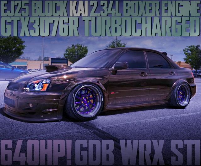 640HP GTX3076R TURBINE GDB WRX STI