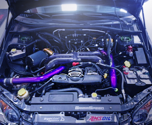 EJ25 BOXER ENGINE GTX3076R TURBINE