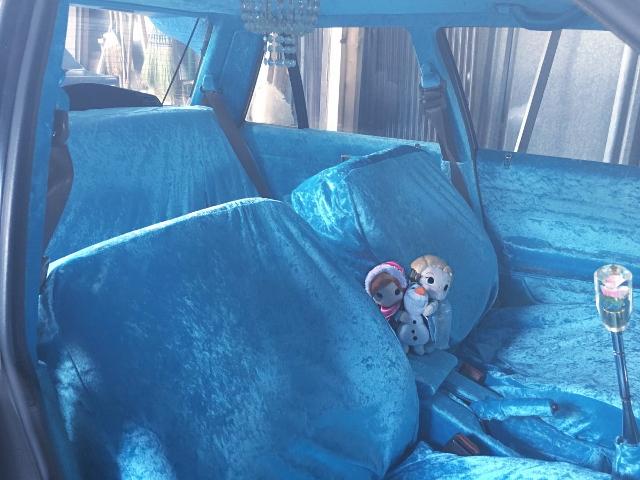 INTERIOR BLUE SEAT