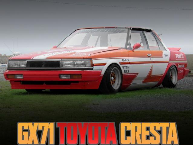 FUKUOKA SPEC GX71 CRESTA