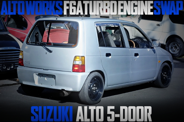 F6A SINGLE-CAM TURBO ENGINE SWAP HA11S ALTO 5-DOOR