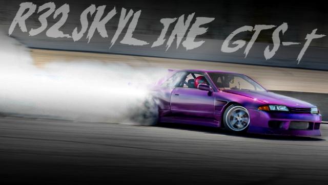 HCR32 SKYLINE GTS-T DRIFT SPEC
