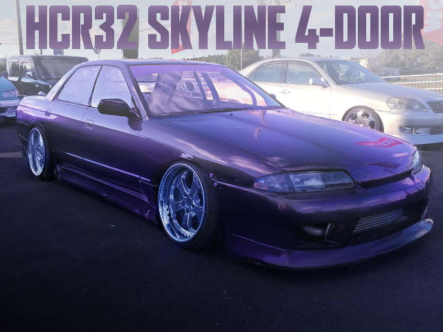 HCR32 SKYLINE 4-DOOR DRIFT SPEC