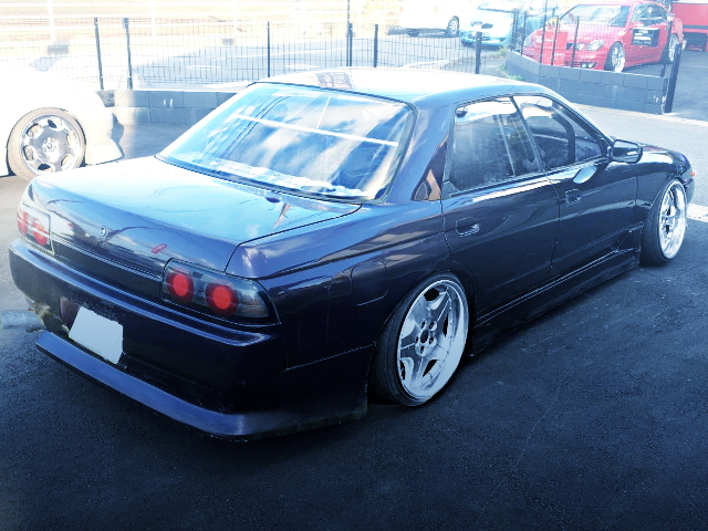 REAR EXTERIOR HCR32 SKYLINE 4-DOOR DRIFT-SPEC