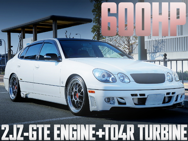 600HP TO4R TURBO JZS161 ARISTO