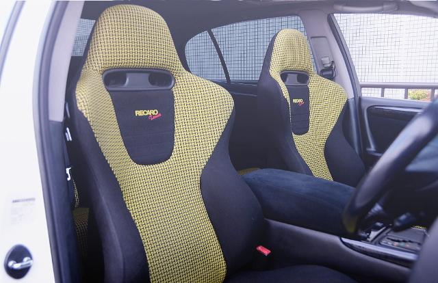 INTERIOR FRONT RECARO SEAT