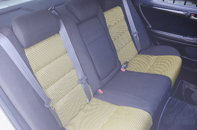 REAR CUSTOM BENCH SEAT